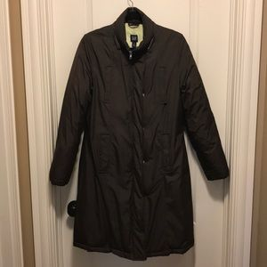Gap down filled puffer brown coat - Size M